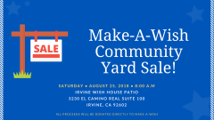 Make-A-Wish Community Rummage Sale