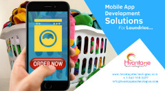 Mobile App Development Solution for your Laundry business