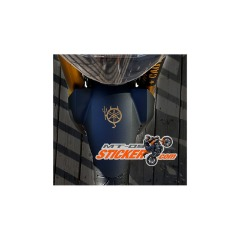 Yamaha Devil front wheel Fenders sticker (13)