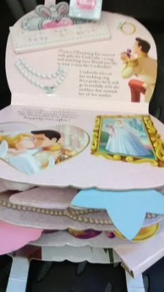 "GIRL'S ""CINDERELLA"" WEDDING BOOK PURSE"