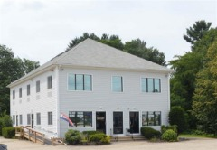 2nd floor office w/ 3 rooms! Great visibility & easy access to Rte 18