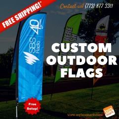 custom outdoor flags