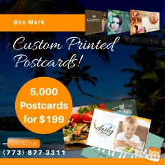 Custom Postcard Printing for Business