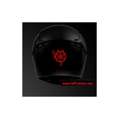 MT-07 Yamaha Devil helmet sticker (30)