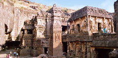 Ajanta Ellora Caves Tour Package from Mumbai