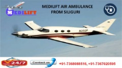 Book Low-Budget Air Ambulance Services in Siliguri Provided by Medilift