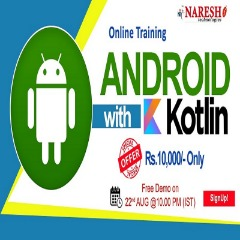 Android with Kotlin Online Training - NareshIT
