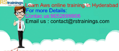 Aws online training in USA