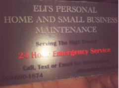 Eli's Personal Home & Small Business Maintenance Services