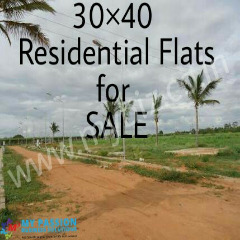 Residential SITES 30*40 SQ.FT for sale at ANEKAL- 6.9 lacs.