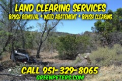 Mike's Land Clearing Services - Low Rates
