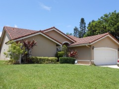 For Rent 3 beds 3 baths lake front home Boynton Beach FL