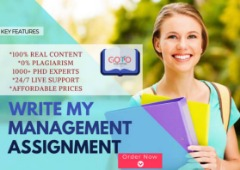 Write My Management Assignment In A Click| Online Help 24/7 Live