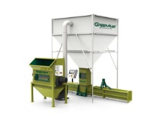 GREENMAX EPS Screw Compactor Helps Lower Transportation And Storage Cost Greatly
