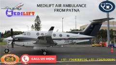 Book Low-Charges and Safe Air Ambulance Services in Patna by Medilift