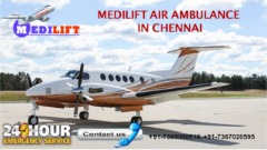 Get Medilift Air Ambulance Services in Chennai with Low-Budget Facilities