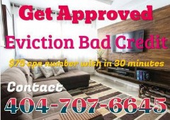 404-707-6645 $75 CPN SCN NUMBERS IN 30 MINUTES BAD CREDITEVICTION CALL US