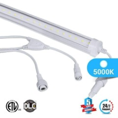 Buy T8 LED Cooler V Shape 5ft For Gas station cooler doors, offices.