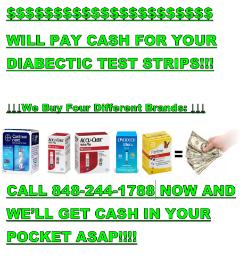 We Buy Diabetic Test Strips