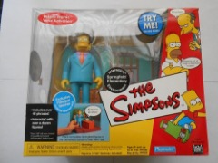 THE SIMPSONS INTELLI-TRONIC MILITARY ANTIQUE SHOP HERMAN