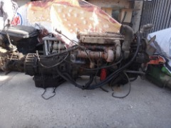 CUMMINS ENGINE WITH TRANSMISSION