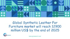 Global Synthetic Leather For Furniture market will reach 12900 million US$ by the end of 2025