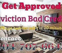 BAD CREDIT EVICTION $75 CPN SCN NUMBERS METRO ATLANTA GA
