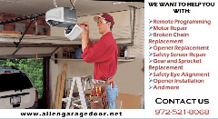 A+ Rated Service | Garage Door repair in Allen, 75071 TX