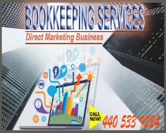 Part Time Bookkeeping Services For Direct Marketing Business