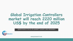 Global Irrigation Controllers market will reach 2220 million US$ by the end of 2025