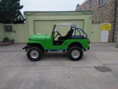"1957 Kaiser Willys CJ5 /4x4/Desert Ready/Corona ""Lime green""Cheers !!!"