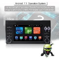 Android 7.1 Quad-core 2G RAM 16G flash Car DVD Player Radio für Porsche Cayenne(2004-2012)