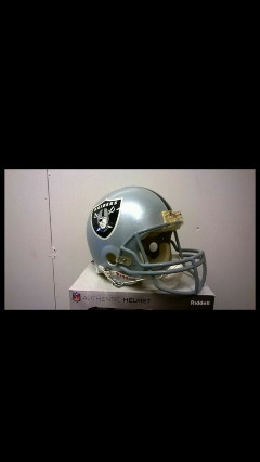 Los Angeles / Oakland Raiders Helmet Authentic