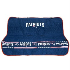 New England Patriots Pet Car Seat Cover