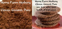 Cloves Ground Pure, The best of our Gourmet spices. Order now, FREE gift