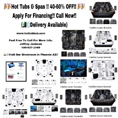 Amazing Low Prices On Hot Tubs and Bathtubs !!Call Now.. Apply for Financing