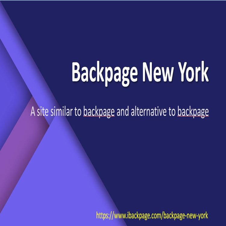 Backpage pages new york city
