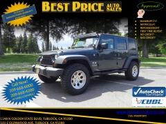 2007 Jeep Wrangler Unlimited X Turlock