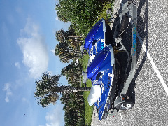 TWO! 2007 Yamaha VX Delux Waverunner Jetskis with Trailer