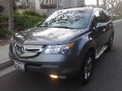 2008 Acura MDX SH-AWD W/POWER TAILGAT , One owner Excellent Condition