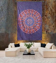 Indian Mandala Printed Tapestry Online