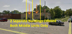 Two Commercial Buildings For Sale : $6,900 ea. OR $10,900 for Both!!