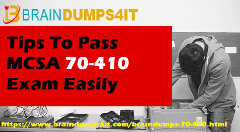 MCSA 70-410 Dumps Free