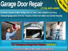 1 Hour - Garage Door Repair in Katy, TX - Katy Garage Door