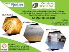 Best Roof Heat/ Water proofing & Epoxy Paint services in Pakistan