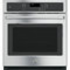 GE Cafe 27 Inch Wall Oven 4.3 Cubic Foot True Convection Oven Self Clean