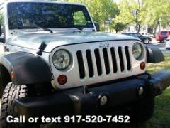 2011 Jeep Wrangler ' Silver' Sport 72K Miles - $14995