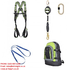 Kratos Construction Fall Protection Safety Harness Kit FA301301