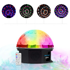 Betopper Magic Ball Par Light Disco DJ Lighting Auto Running/Sound Activated