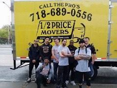 1/2 Price Movers - Professional Movers In Brooklyn NYC